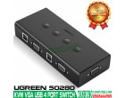 4 PORT USB KVM VGA SWITCH BOX UGREE..